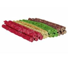 Tyčinka chroupací 9-10mm/12cm mix barev TRIXIE 100ks mix barev