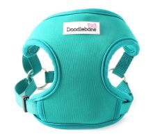 Chladící postroj Doodlebone NeoFlex modro-zelený