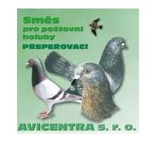 Avicentra Přepeřovací směs holub 25kg