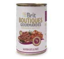 Brit Boutiques Gourmandes Salmon Bits & Paté 400g