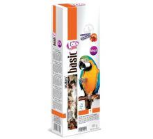 LOLO SMAKERS MEGA 2 klasy ovocné pro velké papoušky 450g