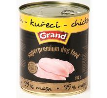 GRAND konz. Superpremium pes drůbeží 850g