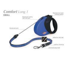 Vodítko FLEXI Comfort Long 1 8m/12kg Lanko Modrá DOPRODEJ