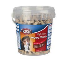 Soft Snack Happy Hearts - srdíčka jehněčí s rýží,kyblík 500g