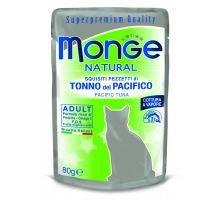 Monge Natural kapsička tuňák v želé pro kočky 80g