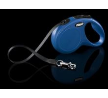 Vodítko FLEXI New Classic S pásek 5m Modrá