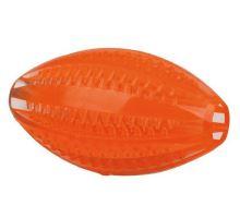 DentaFun rugby míč, termoplastová guma (TPR) 10 cm