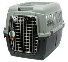 Be Eco Giona 4 transportní box, S-M: 50 x 51 x 70 cm, antracit/ šedo-zelená