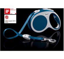 Vodítko FLEXI VARIO Pásek L 8m/50kg Modrá