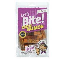 Brit pochoutka Let's Bite Cod'n'Salmon 80g