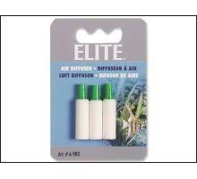 Kámen vzduchovací válec Elite bílý 3 cm 3ks