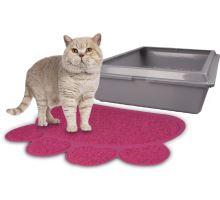 Flamingo Podložka před kočičí toaletu PITOU fuchsiová