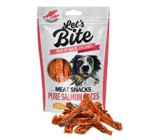 Brit Let's Bite Meat Snacks Pure Salmon Slices 80g