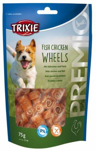 Premio FISH CHICKEN WHEELS měkká kolečka kuře s rybou 75g