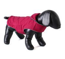 Doodlebone oboustranná zimní bunda, raspberry/navy