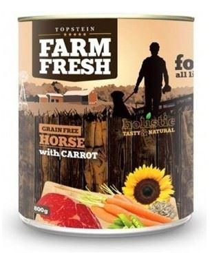 Topstein Farm Fresh Horse with Carrots 800g