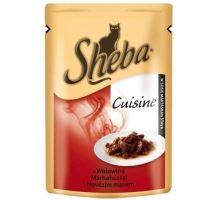 Sheba kapsa Cuisine hovězí maso ve šťávě 85g