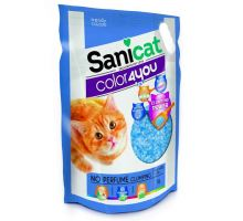 Sanicat COLOR4YOU modrý hrudkující silica gel 5L/2,4 kg