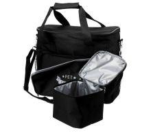 Cestovní taška na potřeby pro psa+zásobník na krmivo, 38x354x17cm, černá