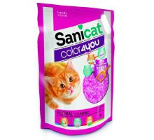 Sanicat COLOR4YOU růžový hrudkující silica gel 5L/2,4 kg