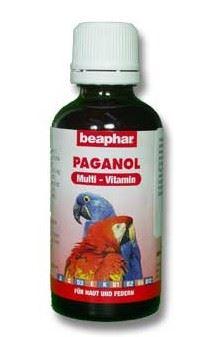 Beaphar vitamíny ptáci Paganol multi papoušek 50ml