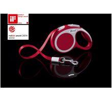 Vodítko FLEXI VARIO Pásek XS 3m/12kg červená