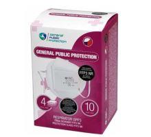 General Public Protection respirátor FFP3 10 ks