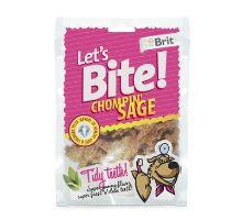 Brit pochoutka Let's Bite Chompin' Sage 150g