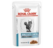 Royal Canin VD Cat Sensitivity Control Chicken&Rice Pouch 12x85g