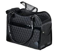Taška AMINA nylonová černá 18x29x37 cm  max.do 5kg