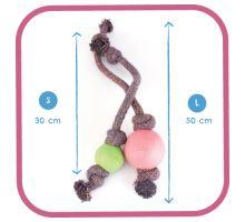 BecoBall lano EKO-růžová