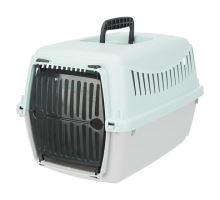 JUNIOR transportní box XS 26 x 25 x 39 cm světle šedá /mátová