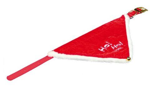 Vánoční šátek pro psa 45-55 cm / 25 mm M - L