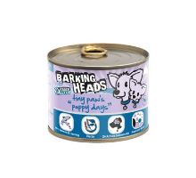 BARKING HEADS Tiny Paws Puppy Days Salmon konzerva 200g