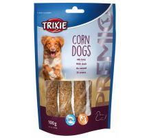 Premio CORN DOGS kukuřice s kachním masem 4 ks/100 g