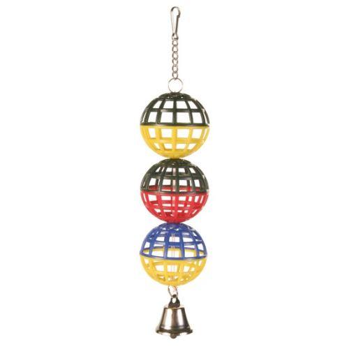 Tři koule se zvonečkem 16cm TRIXIE