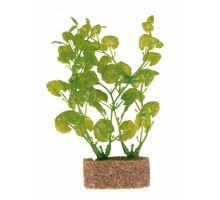 Plastové rostliny s podkladovým pískem 20 cm
