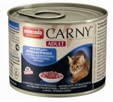 ANIMONDA konzerva CARNY Adult - treska, petržel 400g