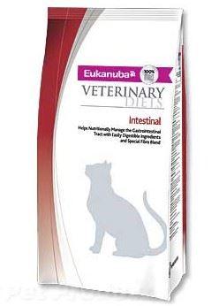 Eukanuba VD Cat Intestinal 1,5kg + 1ks Eukanuba VD Cat konzerva Intestinal 200g