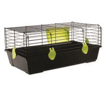 Klec SMALL ANIMAL Ludvík černá se zelenou výbavou 1ks