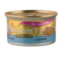 Gourmet Gold konzerva kočka jemná paštika tuňák 85g VÝPRODEJ