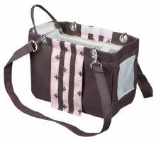 Cestovní taška FINA 14 x 20 x 26 cm tmavošedá