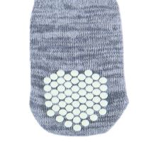 Protiskluzové šedé ponožky, 2 ks pro psy