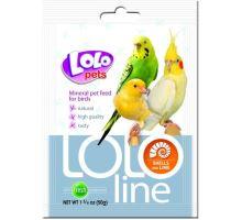 LOLOLINE mušle a vápník pro ptáky 50 g