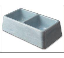Dvojmiska betonová 2 x 0,1 l 1ks