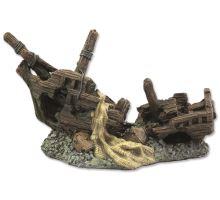Dekorace Vrak lodi 22 cm 1ks