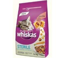 Whiskas Dry kuřecí STERILE 1,4kg