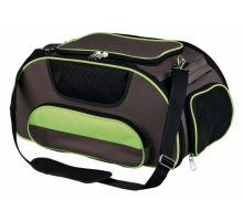 Cestovní taška WINGS do letadla, šedo-zelená 28x23x46cm 20kg