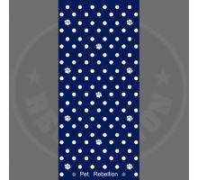 PET REBELLION- Běhoun, puntíkovaný modrý, 45 x 100cm