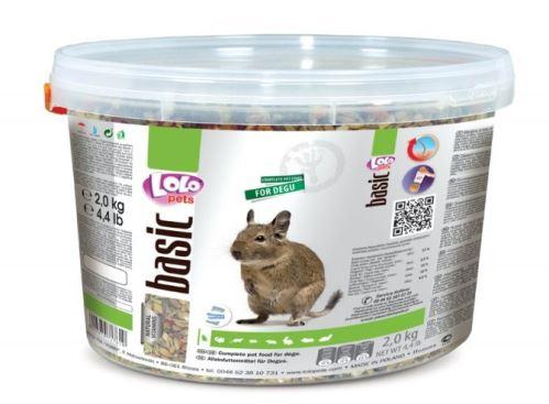 LOLO BASIC kompletní krmivo pro osmáky 3 L, 2 kg kyblík